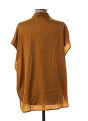 Blouse manches courtes jaune BY MALENE BIRGER pour femme seconde vue