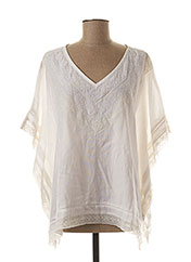 Top blanc MY SUNDAY MORNING pour femme seconde vue