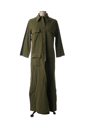Manteau long vert ATTICO pour femme