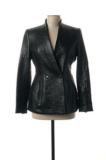 Veste simili cuir bleu BY MALENE BIRGER pour femme