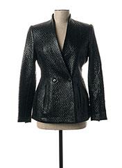 Veste simili cuir bleu BY MALENE BIRGER pour femme seconde vue