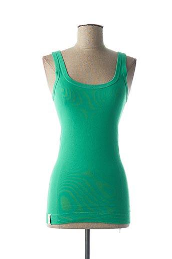 Débardeur vert BY MALENE BIRGER pour femme