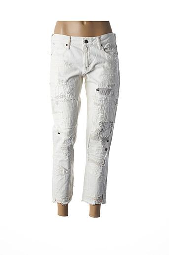 Jeans boyfriend blanc RALPH LAUREN pour femme