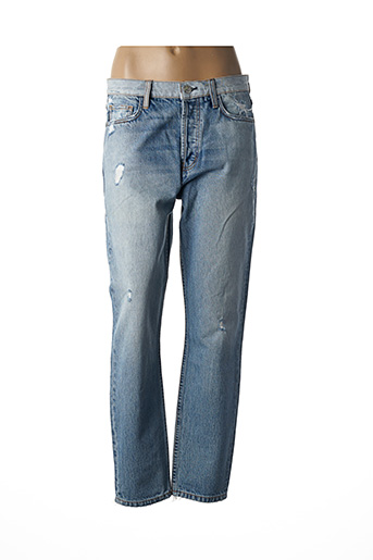Jeans coupe droite bleu CURRENTE/ELLIOTT pour femme