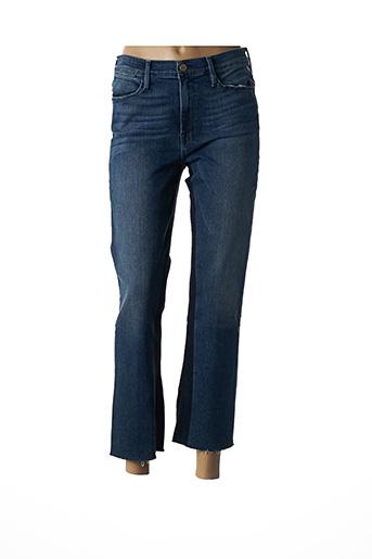 Jeans coupe droite bleu FRAME pour femme