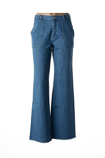 Jeans coupe large bleu VANESSA SEWARD pour femme