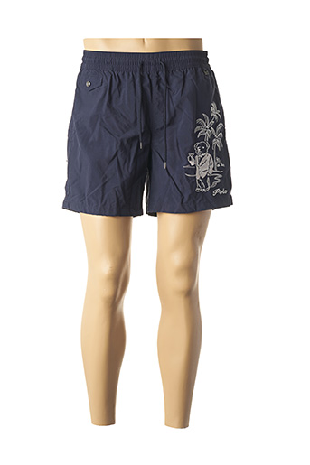 Short bleu RALPH LAUREN pour homme