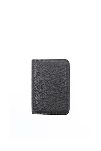 Porte-carte gris AIZEA pour homme