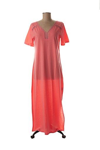 Chemise de nuit rose LAURENCE TAVERNIER pour femme