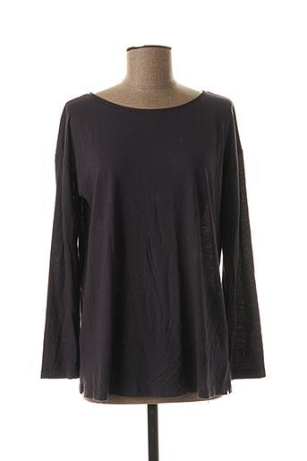 T-shirt manches longues gris HANRO pour femme