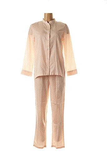 Pyjama orange LAURENCE TAVERNIER pour femme