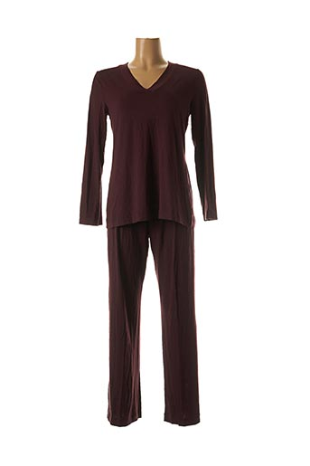 Pyjama rouge HANRO pour femme