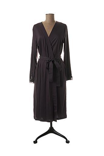 Robe de chambre gris HANRO pour femme