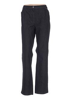 Jeans coupe droite noir KARTING pour femme