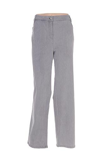 Jeans coupe droite gris BASLER pour femme