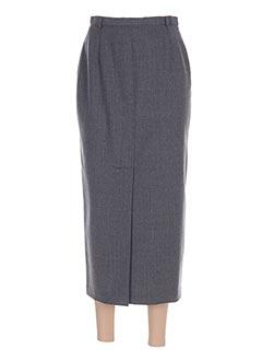 Jupe longue gris FEDORA pour femme