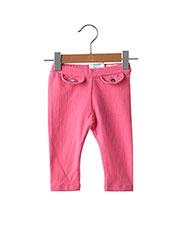 Pantalon casual rose MAYORAL pour fille seconde vue