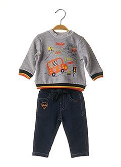 Pull/pantalon gris BABY BOL pour garçon