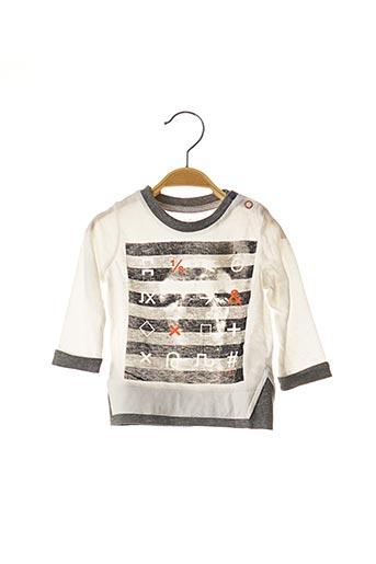 T-shirt manches longues blanc ESPRIT pour garçon