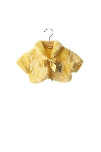 Boléro jaune ORIGINAL MARINES pour fille