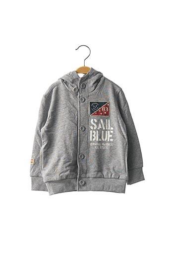 Veste casual gris ORIGINAL MARINES pour garçon