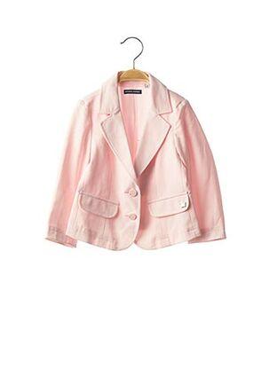 Veste chic / Blazer rose ORIGINAL MARINES pour fille