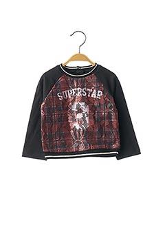 Sweat-shirt noir ORIGINAL MARINES pour fille
