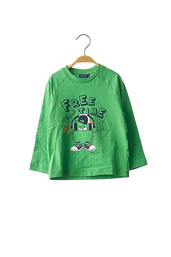 T-shirt manches longues vert ORIGINAL MARINES pour garçon