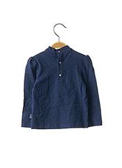 T-shirt manches longues bleu ORIGINAL MARINES pour fille seconde vue
