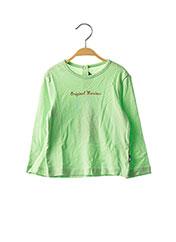 T-shirt manches longues vert ORIGINAL MARINES pour fille seconde vue