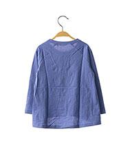 T-shirt manches longues violet ORIGINAL MARINES pour fille seconde vue