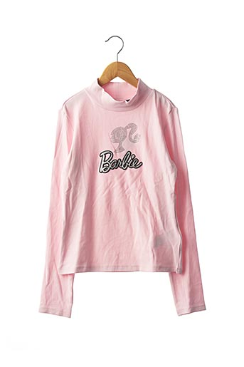 Pull col cheminée rose ORIGINAL MARINES pour fille