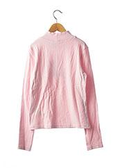 Pull col cheminée rose ORIGINAL MARINES pour fille seconde vue