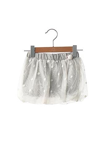 Jupe mi-longue gris ORIGINAL MARINES pour fille