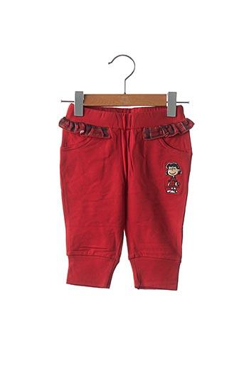 Pantalon casual rouge ORIGINAL SOCIETY pour fille