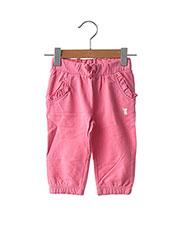 Pantalon casual rose ORIGINAL MARINES pour fille seconde vue