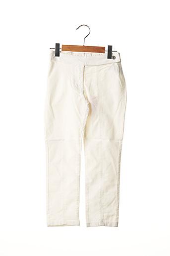 Pantalon casual blanc ORIGINAL MARINES pour fille