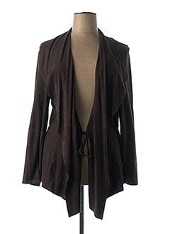 Veste casual marron LEBEK pour femme