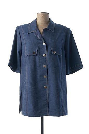Veste casual bleu KARTING pour femme
