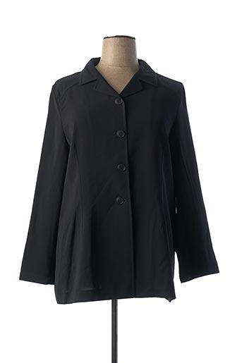 Veste casual noir FEDORA pour femme