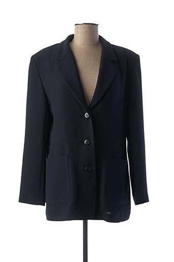 Veste chic / Blazer bleu FEDORA pour femme