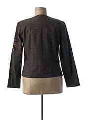 Veste casual noir JEAN GABRIEL pour femme seconde vue