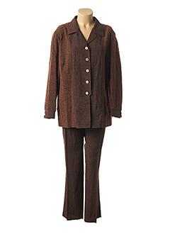 Veste/pantalon marron KARTING pour femme