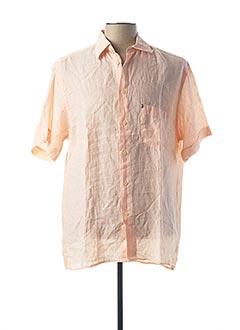 Chemise manches courtes orange PLAYBOY pour homme