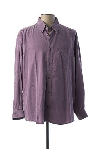 Chemise manches longues violet A CAUSE DES GARÇONS pour homme