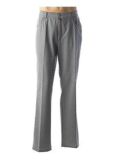 Pantalon casual gris PIERRE CARDIN pour homme
