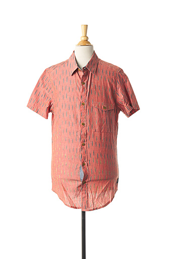 Chemise manches courtes orange BILLABONG pour homme