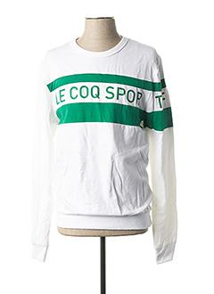 Sweat-shirt vert LE COQ SPORTIF pour homme