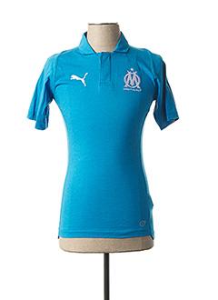T-shirt manches courtes bleu PUMA pour homme