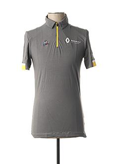 T-shirt manches courtes gris LE COQ SPORTIF pour homme